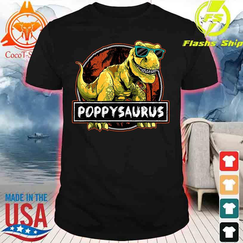 Dinosaur Cool Poppy Saurus shirt