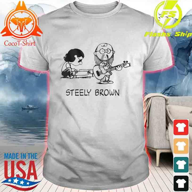Official Steely Brown shirt