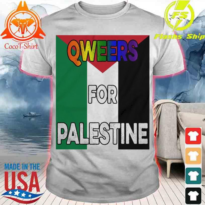 QWeers for Palestine shirt